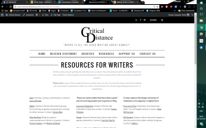 New design of Critical Distance resources page